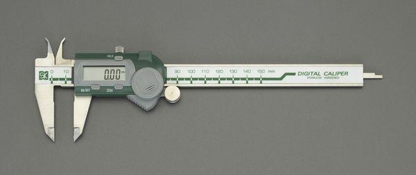 【メーカー在庫あり】 150mm デジタルノギス(インサイド型) 000012291319 HD店