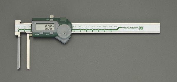 【メーカー在庫あり】 5-150mm デジタルノギス(インサイド型) 000012291321 HD店