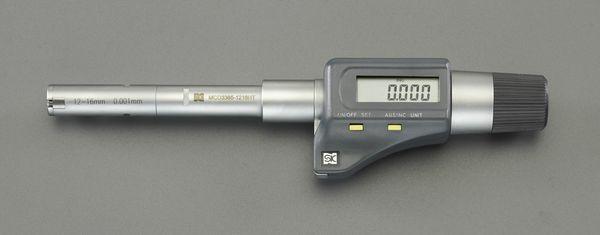 【メーカー在庫あり】 10-12mm デジタル内径マイクロメーター 000012291331 HD店