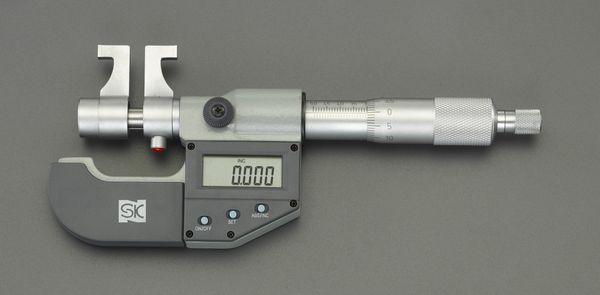 【メーカー在庫あり】 50- 75mm [デジタル]インサイドマイクロメ 000012291340 HD店