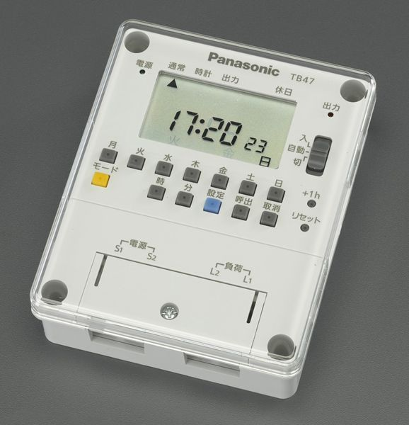 【メーカー在庫あり】 AC100V タイムスイッチ (週間) 000012295499 HD店