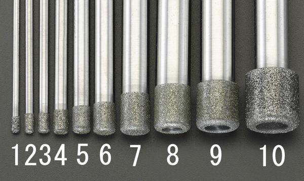 【メーカー在庫あり】 10.5x12.0x100mm ダイヤモンドバー(10 000012292081 HD店