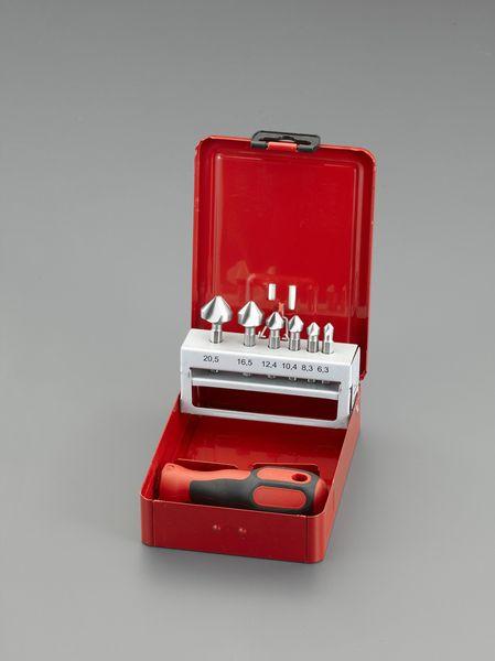 【メーカー在庫あり】 6.3-20.5mm カウンターシンク(6本組・六角 000012292343 HD店