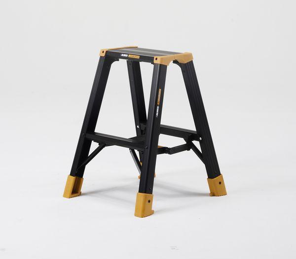 【メーカー在庫あり】 0.53mm はしご兼用脚立(ワイドステッ 000012292546 HD店