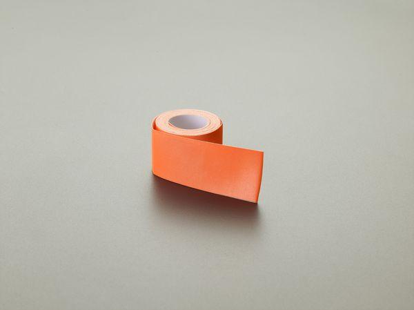 【メーカー在庫あり】 50mmx10m/0.4mm 反射シート(蛍光オレ 000012297098 HD店