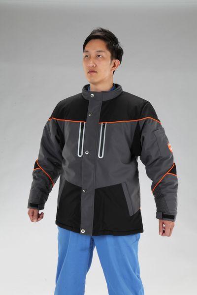 【メーカー在庫あり】 [S] 防寒ジャケット (黒/灰) 000012295005 HD店