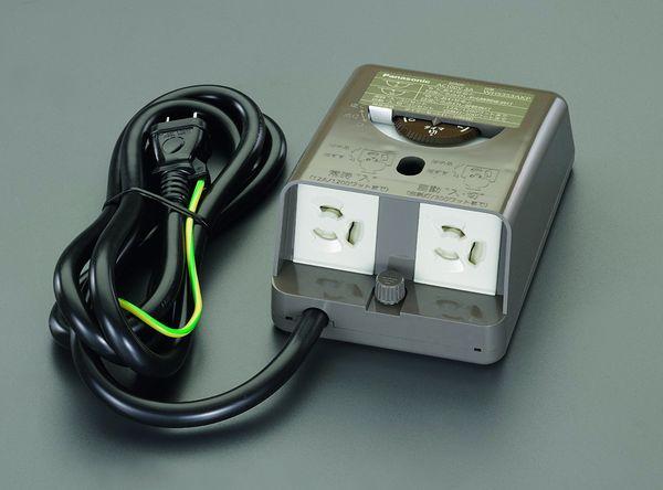 【メーカー在庫あり】 AC100V/12A 防水型コンセント(1.5mコ 000012286975 HD店