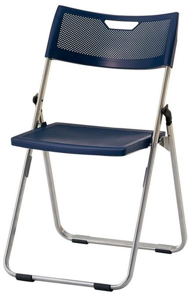 【メーカー在庫あり】 折畳み椅子(ダ-クグレー) 000012297419 HD店