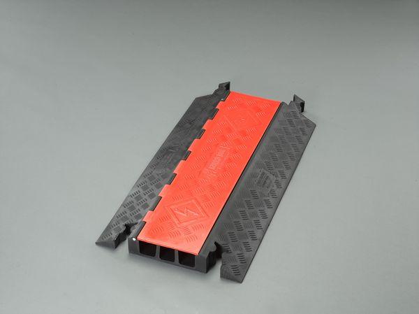 【メーカー在庫あり】 914x510x76mm ケーブルプロテクター(3溝) 000012294109 HD店