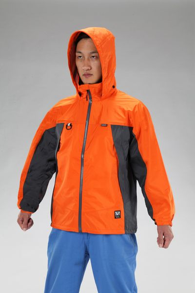【メーカー在庫あり】 [3L] 全天候型ジャケット(オレンジ) 000012297736 HD店