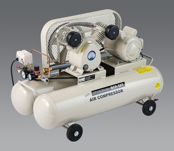 【メーカー在庫あり】 AC100V/1.00kW エアコンプレッサー(タンク58 EA116PN-2 HD店