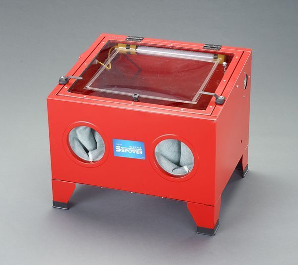 【メーカー在庫あり】 630x485x490mm サンドブラスター EA127BL-1 HD店