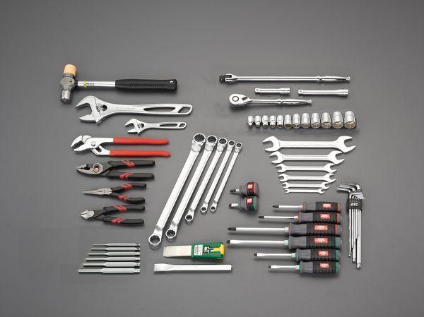 【メーカー在庫あり】 [59点] フォークリフト整備用工具セット EA49-1 HD店