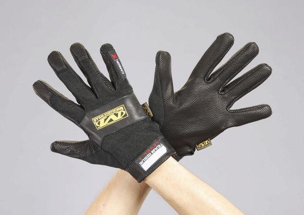 【メーカー在庫あり】 [L] 手袋・メカニック(難燃タイプ) EA353BZ-73 HD店
