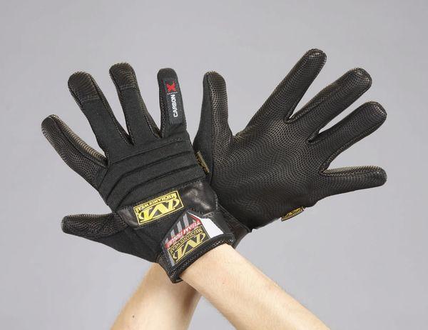 【メーカー在庫あり】 [M] 手袋・メカニック(難燃タイプ) EA353BZ-82 HD店