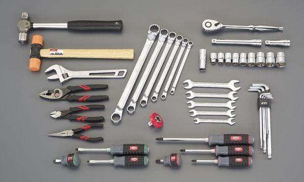 【メーカー在庫あり】 [47個組] 工具セット EA612SB-52 HD店