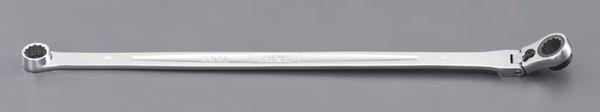 【メーカー在庫あり】 19mm/460mm 超ロングラチェットメガネレンチ EA614HS-59 HD店