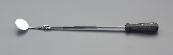 【メーカー在庫あり】 φ50mm/285-725mmサービスミラー(伸縮 EA724RS-13 HD店