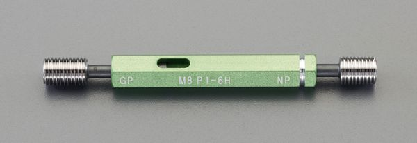 【メーカー在庫あり】 M12xP1.25/105mm限界ねじゲージ(I EA725DK-9 HD店