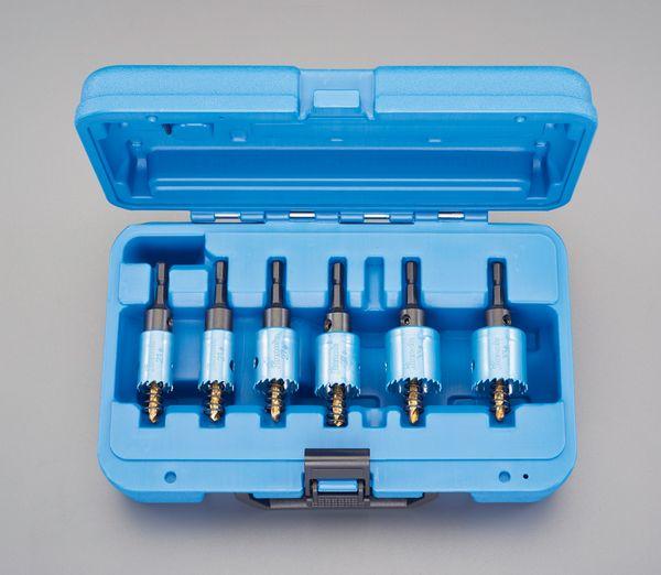 【メーカー在庫あり】 21-33mm/6本組 ホールソーセット(六角軸/電 EA823JA HD店