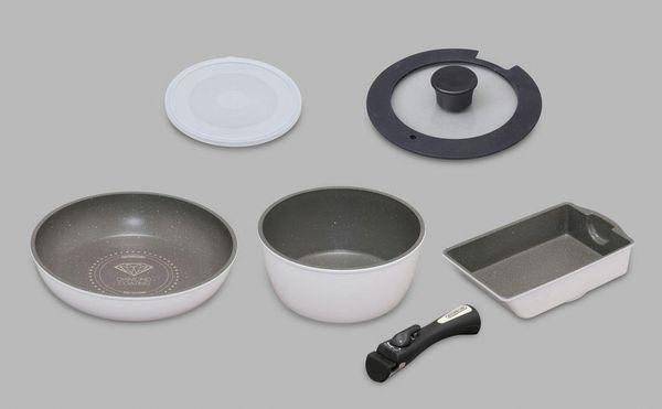 【メーカー在庫あり】 [ 6点組] 鍋・フライパンセット(IH対応 EA913VR-12A HD店