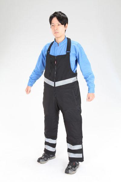【メーカー在庫あり】 [XL]防寒オーバーオール EA915GD-173 HD店