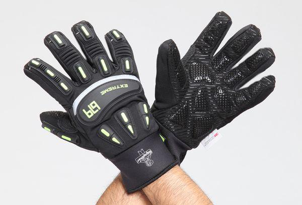 【メーカー在庫あり】 [XL]手袋(防寒-34℃) EA915GF-143 HD店