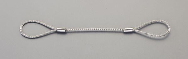【メーカー在庫あり】 10mmx1.5m ワイヤースリング(ステンレス製) EA981WD-72 HD店