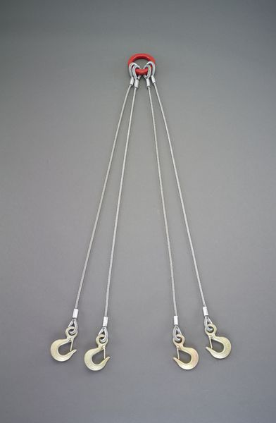 【メーカー在庫あり】 2.0tonx1.0m ワイヤースリング(4本懸 EA981WT-31 HD店
