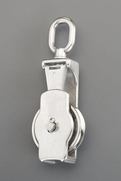 【メーカー在庫あり】 76.0mm [ロープ用]リング付滑車(ステ EA987SP-13 HD店
