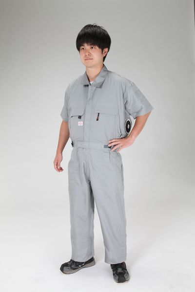 【メーカー在庫あり】 [3L] 空調継ぎ作業服(本体のみ/ EA996AM-14 HD店