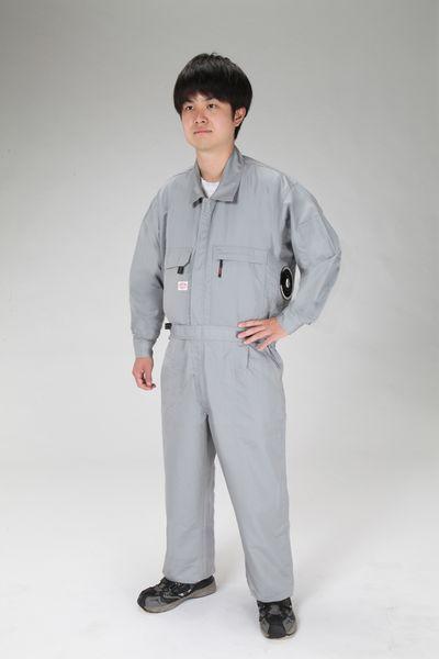 【メーカー在庫あり】 [3L] 空調継ぎ作業服(本体のみ/ EA996AM-34 HD店