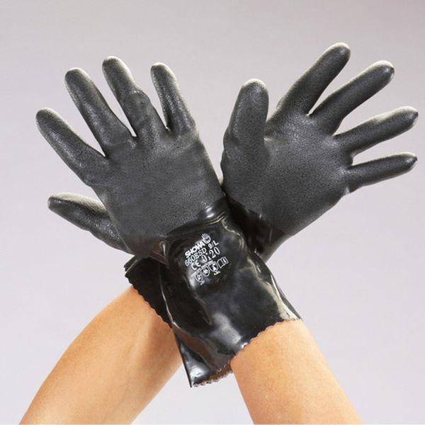 メーカー在庫あり エスコ ESCO LL 期間限定特価品 HD店 卸直営 静電ゴム手袋 EA354BM-22A