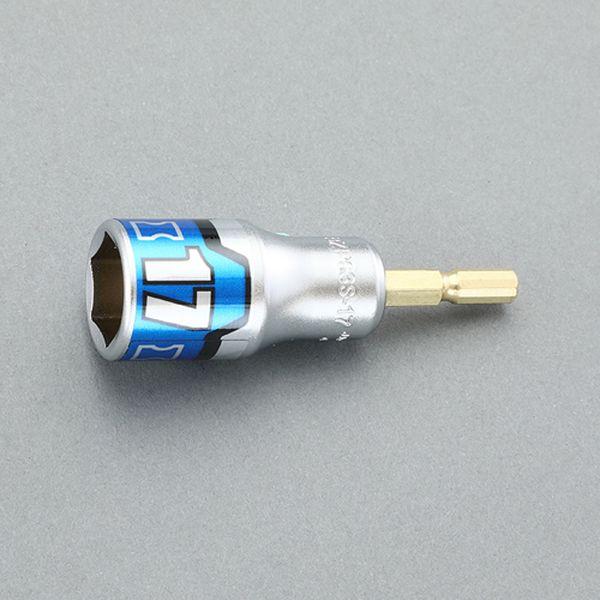 エスコ ESCO 19mm 初売り 限定価格セール 電ドルソケット ショート HD店 EA612AA-19