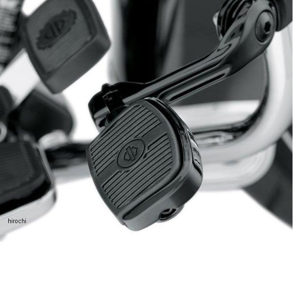 【USA在庫あり】 ハーレー純正 ミニフットボードキット スモール 3インチ(76mm)グロスブラック 50500144 HD店