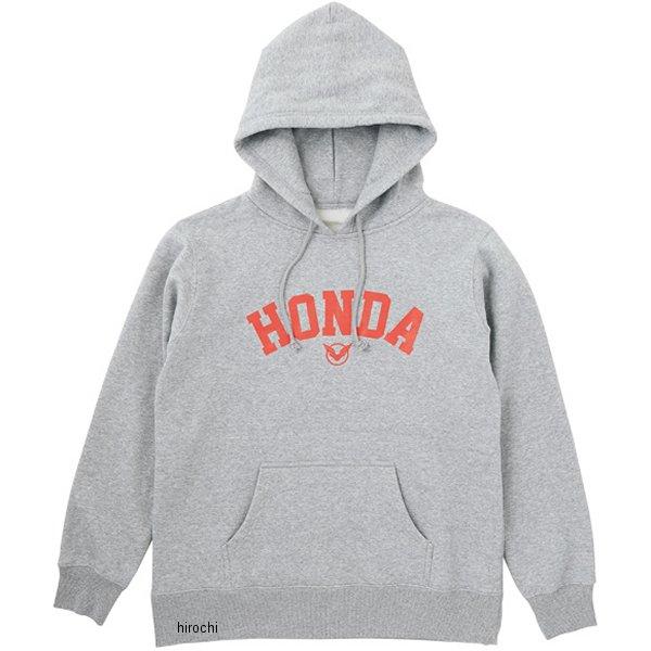 ホンダ純正 2017年秋冬モデル Honda×YOSHIDA ROBERTO 「Honda」プルオーバーパーカー グレー Mサイズ 0SYTK-X5K-N HD