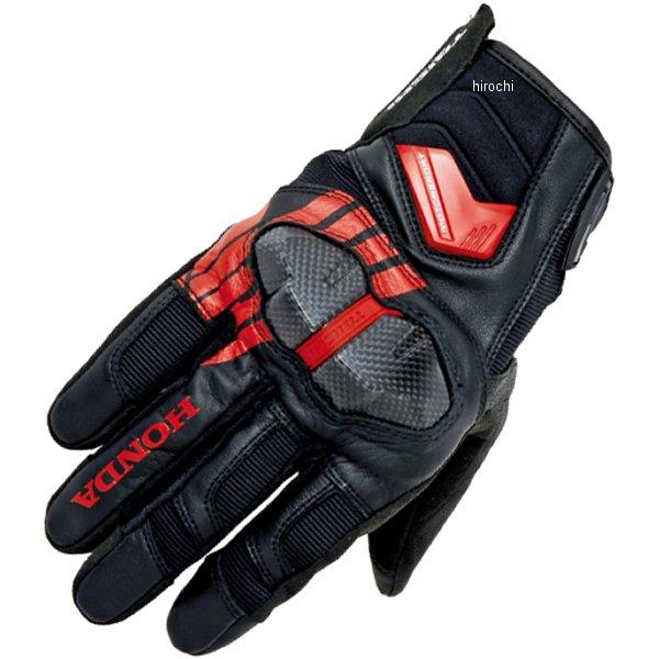 ホンダ純正 秋冬モデル Honda×RSタイチ アームドウインターグローブ 黒/赤 LLサイズ 0SYTP-X6C-K HD店