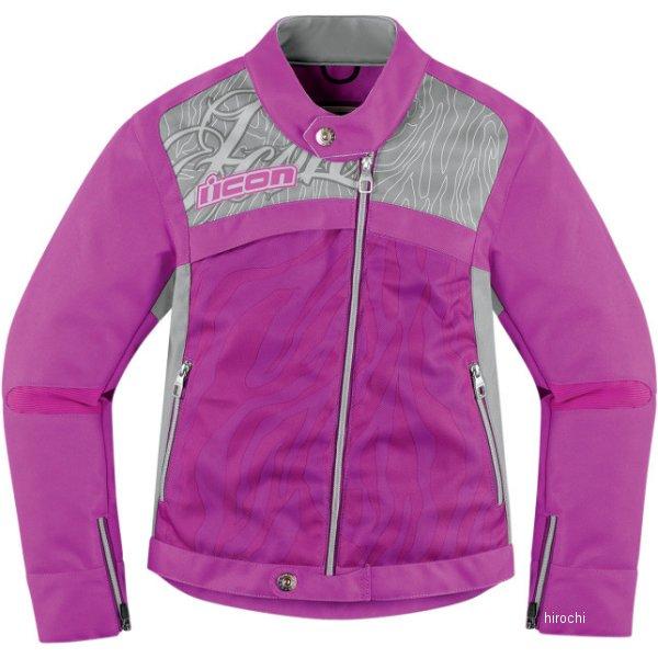 28220585 アイコン ICON ジャケット HELLA2 レディース 紫 XLサイズ 2822-0585 HD店