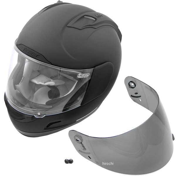 【USA在庫あり】 アイコン ICON ヘルメット アライアンス DARK Mサイズ (57cm-58cm) 0101-6644 HD店