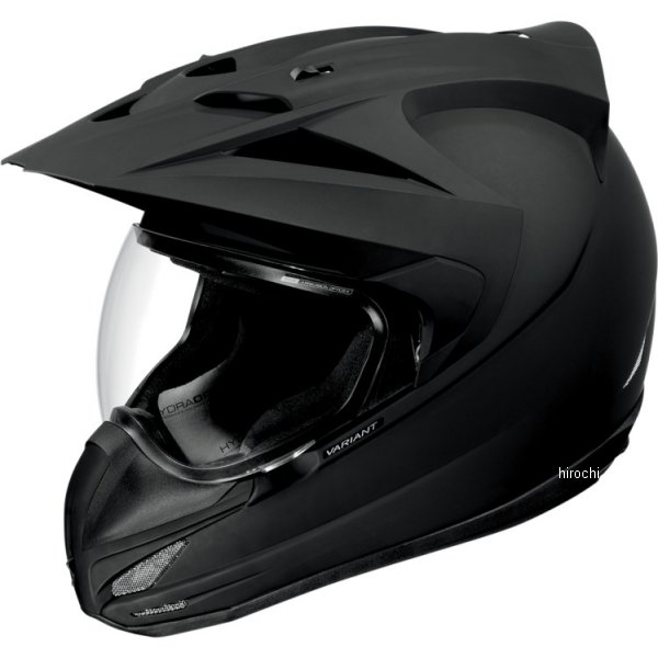 【USA在庫あり】 アイコン ICON フルフェイスヘルメット Variant Rubatone 黒 XSサイズ (53cm-54cm) 0101-4774 HD店