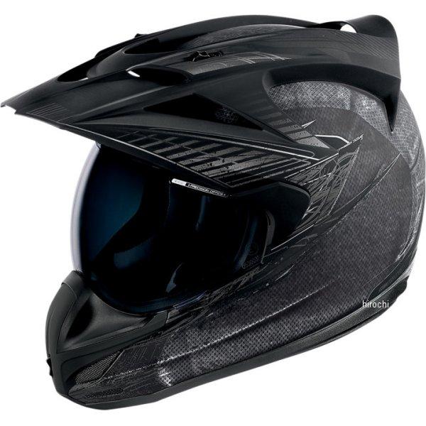 【USA在庫あり】 アイコン ICON ヘルメット BTLSCAR チャコール Lサイズ (59cm-60cm) 0101-6497 HD店