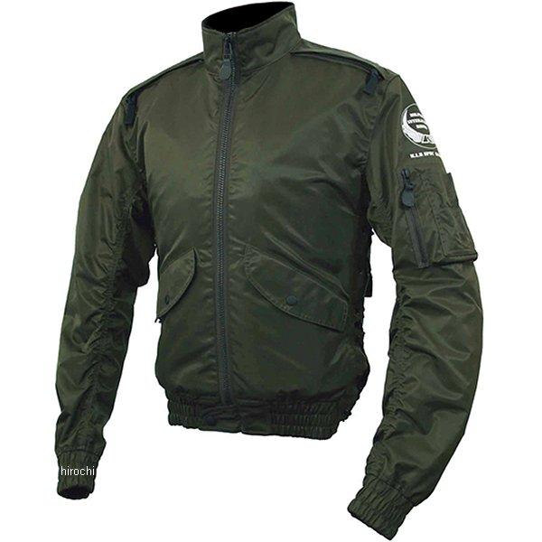 6542 カドヤ KADOYA ナイロンジャケット FR-L2 アーミーグリーン Lサイズ 6542-AGR-L HD店