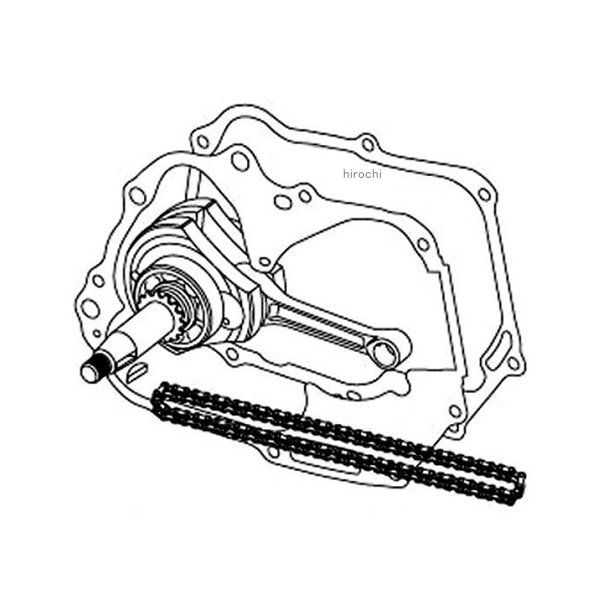 SP武川 スーパーヘッド+R Rステージ+D 124cc用 リペアパーツ 2点支持クランクシャフトキット Rクランク モンキー ゴリラ 01-10-8042 HD店