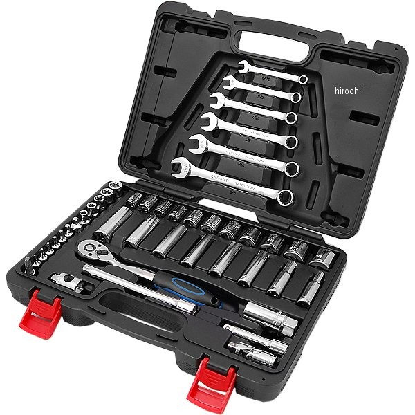 モトツールズ Moto tools インチ工具 44pcsセット ケース付き 975042 HD