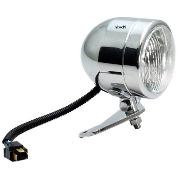 【メーカー在庫あり】 ハリケーン 4インチ ブレットライトキット ボルト R/ABS クロームメッキ HA5736 HD店