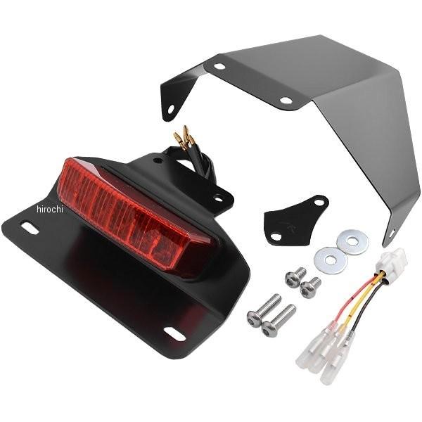 【メーカー在庫あり】 ハリケーン フェンダーレスキット LEDレクタングル ボルト/R/ABS レッドレンズ HA6633R HD店