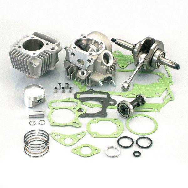 キタコ 108cc STD ボアアップキット アルミ硬質メッキシリンダー/SPLカム付 モンキー/ゴリ 215-1133122 HD店