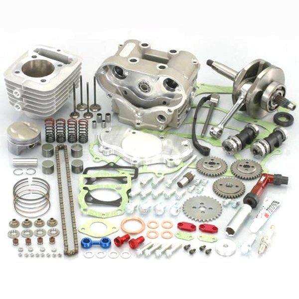 キタコ DOHC145cc ボアアップキット XR100 215-1417930 HD店
