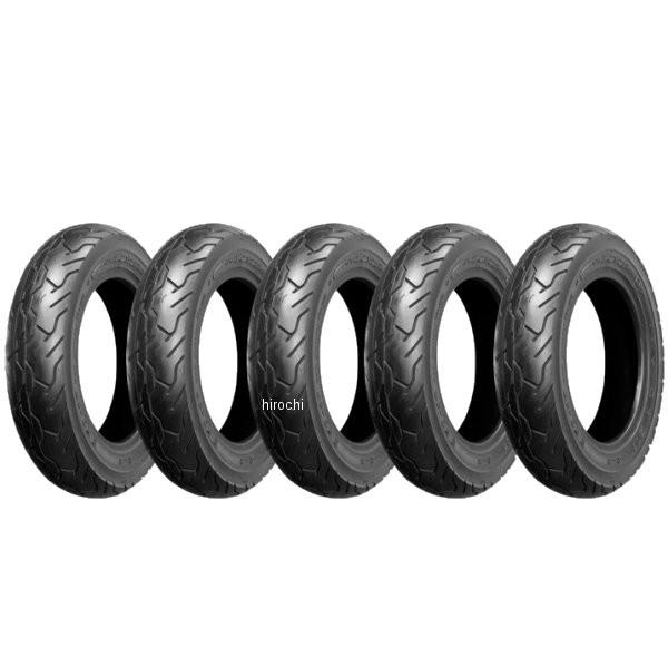 【メーカー在庫あり】 NBS バイクパーツセンター タイヤ 3.50-10 51J TL フロント、リア兼用 5本セット NBS01 HD店