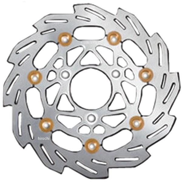 シフトアップ ウェーブフローティングディスクローター ホンダ 200mm シルバー/ゴールド 202054-33 HD店